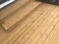 DECKING 145MM X 28MM X 4000MM BEST PRICE IN UK !!! LARGE STOCK. CHECK OTHER ITEMS. GU24 / TW7 / UB6