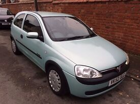 Vauxhall Corsa Comfort 1.2 16V 2002