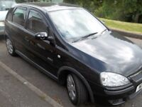 Vauxhall Corsa SXI+ Diesel Black (£30 a year road tax)