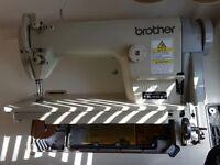 Very good working industrial sewing machine!
