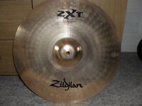 """zildjian zxt 18""""med thin crash new"""