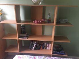 Habitat display unit/bookcase
