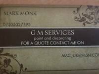 Gm-services painting and decorating