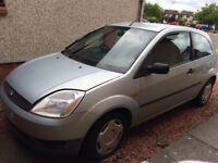 2003 Ford Fiesta MOT expired
