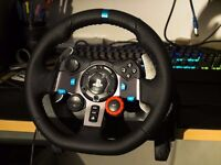 * NEW * Logitech G29 steering wheel with shifter - works with PC and PS3 / PS4