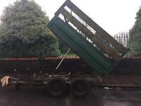 Tipper trailer reduced