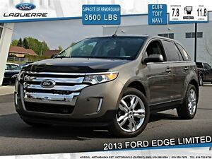2013 Ford Edge **LIMITED*AWD*CUIR* TOIT*NAVI*CAMERA**