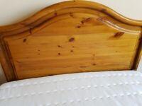 Wooden Pine Headboard