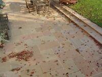 Premium Natural Raj Smooth Indian Sandstone Paving Slabs | Garden Patio | 19m2