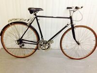 Black Dawes 10 speed steel frame immaculate Condition