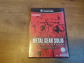 Metal Gear Solid: Twin Snakes for Nintendo Gamecube. Quite Rare!!