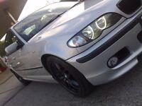 BMW 325i M SPORT AUTO/TRIPTRONIC 88000 MILES! 18 INCH ALLOYS M LEATHER M SPOILER M EXTRAS STUNNER