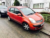 2007 NISSAN NOTE SE 5 DOORS GENUINE LOW MILEAGE 32000 (not corsa fiesta focus clio golf polo)
