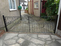 Wrought Iron Gates. Second Hand.