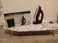 Iron & ironingboard