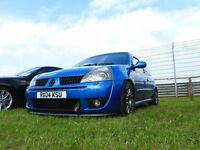 2004 RENAULT CLIO 182 Renaultsport. good spec, very clean