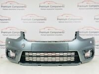 SKODA YETI FACE LIFT GREY FRONT BUMPER WITH GRILL GENUINE 2013-2018 [PC264]