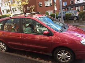 An excellent buy a lovely low mileage Renault scenic reliable and well looked after