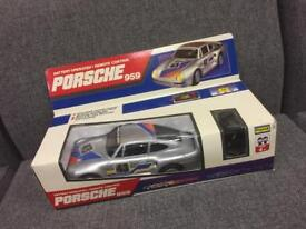 Vintage retro Porsche 959 car remote control 1990s 80s 90s toy collectable SDHC
