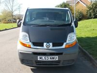 Renault Traffic van 6 Speed 53 Reg