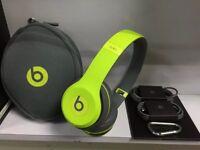 Beats SOLO 2 Wireless SHOCK YELLOW £130ono