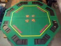 Foldout Poker Table - 8 people