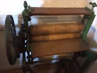 Antique Cast Iron Mangle