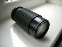 MAKINON ZOOM CAMERA LENS F4.5 80MM-200MM