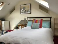 Large Loft Room to rent in family home. Central Bath