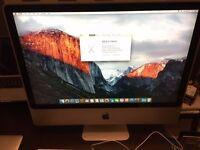 "APPLE iMac 24"" early 2008 3.06GHz CPU 4GB RAM 500GB HDD"