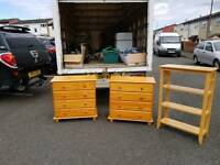 Soild pinewood chest of drawers