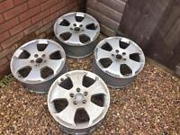 17 Inch Alloy Wheels x4 (came off Audi A3)