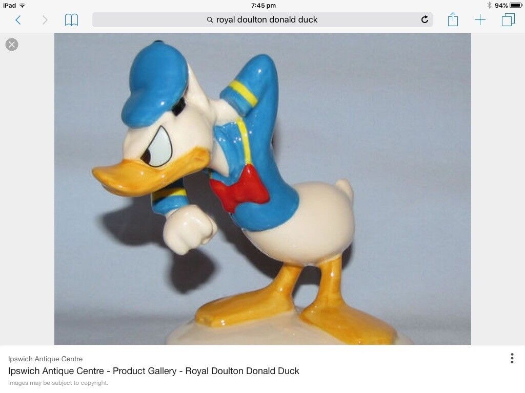 Royal duoltion Donald duck