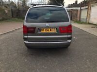 2004 Seat Alhambra 1.9 TDI PD SX 5dr Manual @07445775115
