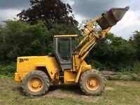 Jcb 410 loading shovel forklift telehandler tractor