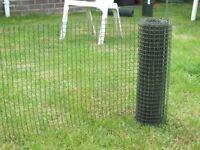 Plastic Mesh Fencing.