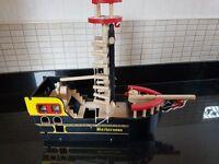 Childrens / kids Wooden Pirate Ship