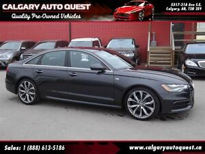 2015 Audi A6 2.0T Technik QUATTRO AWD/NAVI/360 CAM/LEATHER/ROOF