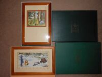 Winnie the Pooh pictures x2 - BRAND NEW