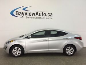 2016 Hyundai ELANTRA L- 6 SPD! A/C! FULL PWR GROUP!