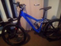 Kona stinky mens bike blue 26 inch one owner