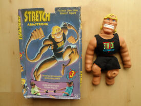 "CAP TOYS / CHARACTER STRETCH ARMSTRONG 15"" GIANT ACTION HERO FIGURE BOXED RARE"