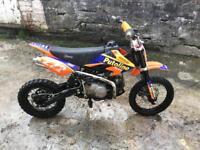 120cc Super Stomp Pit Bike