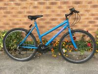 Ladies Mountain Bike. In good condition with a new rear tyre.