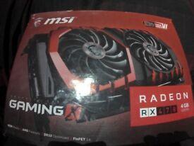 MSI radeon RX 470 4GB DDR5
