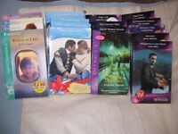 13 Mills and Boon plus 4 Silhouette Love Story Books
