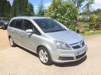 Vauxhall zafira mpv 1.9cdti 7 seater