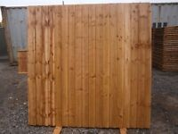 fence panel heavy duty 6x6 featheredge close board rustic! essex romford