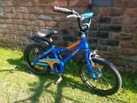 Child's giant bike 16inch wheels