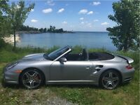 2009 Porsche 911 Turbo Cabriolet, AWD,LEATHER